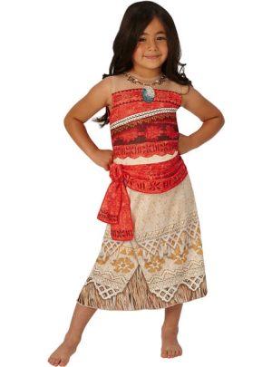 Fantasia de Moana para meninas-Girls Moana Costume