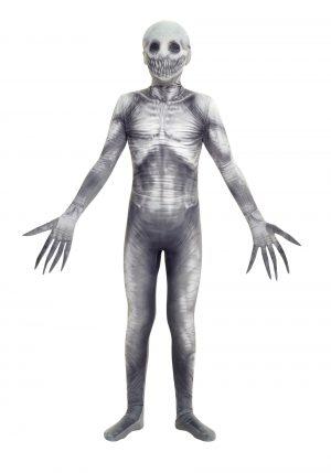 Fantasia de Morphsuit de Criatura Assustadora para Crianças – Creepy Creature Kids Morphsuit Costume
