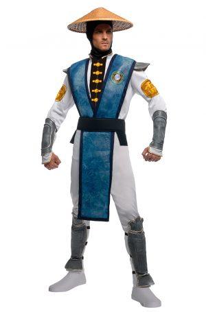Fantasia de Mortal Kombat Raiden para adultos – Mortal Kombat Raiden Adult Costume