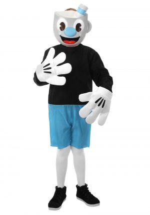 Fantasia de Mugman para crianças – Mugman Costume for Kids
