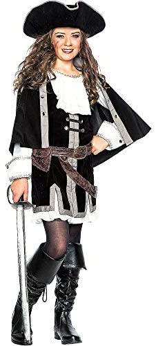 Fantasia de Pirata para Meninas – Child Sailor Captain Costume