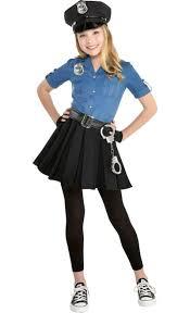 Fantasia de Policial feminina infantil- Girls Officer Cutie Cop Costume