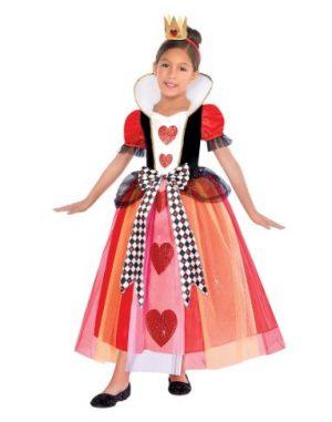 Fantasia de Rainha de Copas – Girls Queen of Hearts Costume