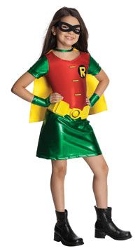 Fantasia de Robin – Girls Robin Costume