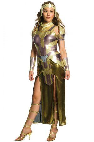 Fantasia de WW Deluxe hipólita para adultos – WW Deluxe Hippolyta Adult Costume