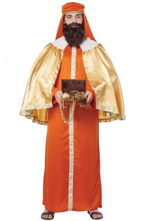 Fantasia de adulto Gaspar o Homem Sábio (Três Reis) – Gaspar, Wise Man (Three Kings) Adult Costume