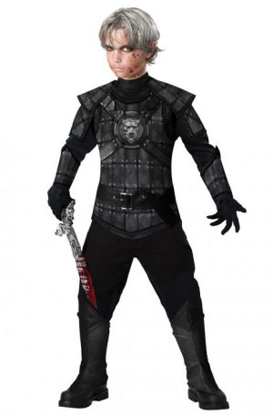 Fantasia de criança caçador monstro- Monster Hunter Child Costume