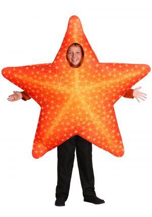 Fantasia de estrela do mar para criança-Starfish Child Costume