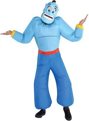 Fantasia de gênio inflável infantil Aladdin – Child Inflatable Genie Costume – Aladdin