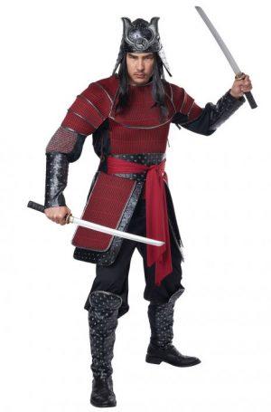Fantasia de guerreiro samurai – Samurai Warrior Adult Costume
