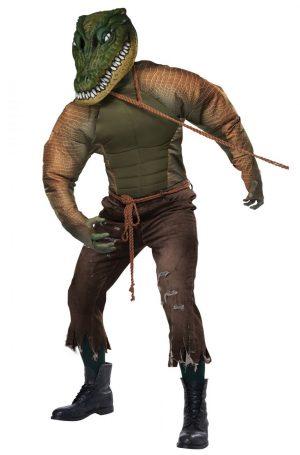 Fantasia de homem jacaré – Gator Man Adult Costume