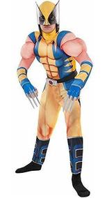 Fantasia de músculo de Wolverine para meninos – Wolverine muscle costume for boys