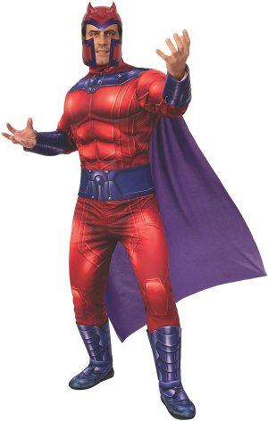Fantasia de Magneto Universo Marvel masculino-Magneto Marvel Universe male costume