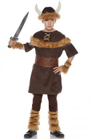 Fantasia de menino viking vitorioso – Victorious Viking Boy Child Costume