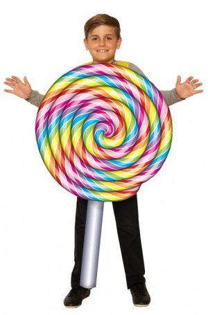 Fantasia de pirulito infantil – Lollipop Child Costume