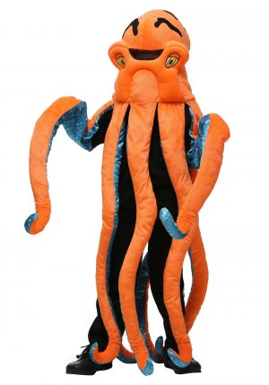 Fantasia de polvo infantil – Kid's Octopus Costume