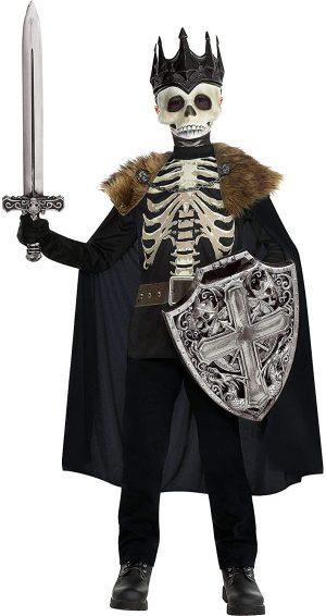 Fantasia esqueleto Rei das Trevas – Child Dark King Skeleton Costume