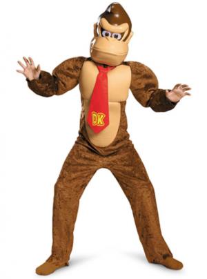 Fantasia infantil Donkey Kong -Donkey Kong Deluxe Children's Costume
