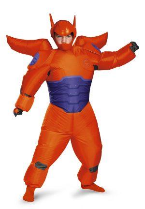 Fantasia infantil Red Baymax inflável Big Hero 6 – Kids Red Baymax Inflatable Big Hero 6 Boys Costume