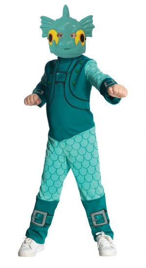 Fantasia infantil Skylanders Gill Grunt – Kids Skylanders Gill Grunt Boys Costume