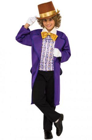 Fantasia infantil de Willy Wonka – Willy Wonka Child Costume