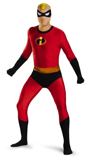Fantasia  masculino adulto Sr. Incrível Bodysuit – Adult Mr Incredible Bodysuit Men Costume