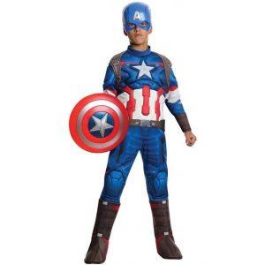Fantasia muscular do Capitão América-Captain America Muscle Costume