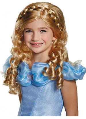 Peruca Disney Cinderela – Disney Cinderella Movie Girls Wig