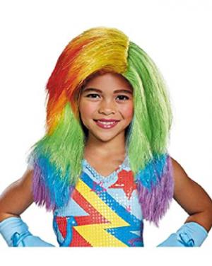 Peruca infantil do Rainbow Dash – Rainbow Dash Kids Wig