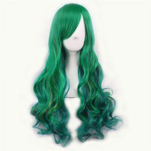 Perucas Mersi Verde para Mulheres – Green Mersi Wigs for Women