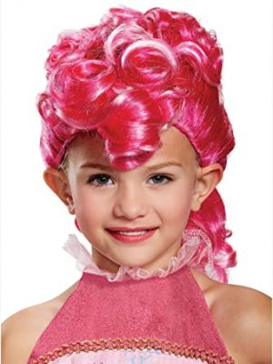 Peruca Pinkie Pie Rosa