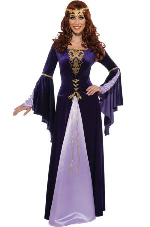 Traje adulto Genebra – Guinevere Adult Costume