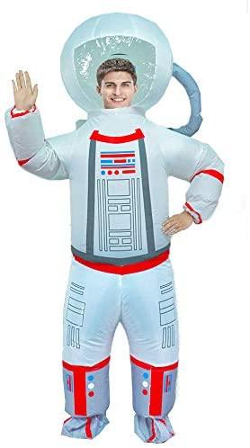 Fantasia de Astronauta inflável adulto -Adult Inflatable Astronaut Costume
