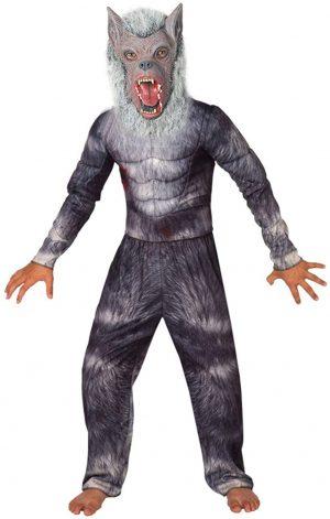 Fantasia de Lobisomem infantil -Children's Werewolf Costume
