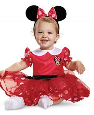 Fantasia de Minnie Mouse vermelha para bebês – Red Minnie Mouse Costume for Babies