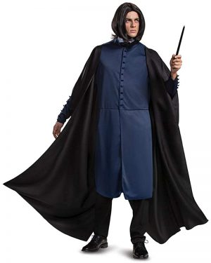 Fantasia masculino Harry Potter Severus Snape fantasia adulto – Fantasy male Harry Potter Severus Snape costume adult