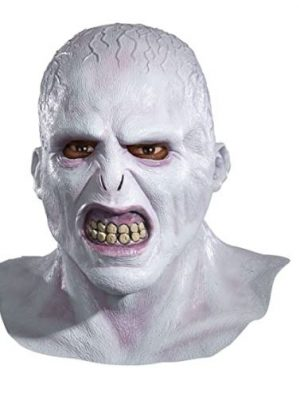 Máscara de látex adulto Harry Potter Voldemort Deluxe – Harry Potter Voldemort Deluxe Adult Latex Mask