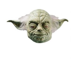 Rubie's Mascara realista star wars yoda – Rubie's Star Wars Adult Yoda Costume Accessories