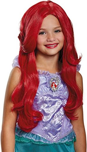 Peruca de Sereia Ariel -Ariel Mermaid Wig