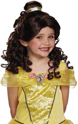 Peruca Infantil Bella de Bella e a Fera- Bella Bella and the Beast Children's Wig
