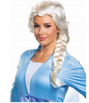 Peruca Elsa  Frozen 2 Adulto –  Elsa Frozen 2 Adult Wig