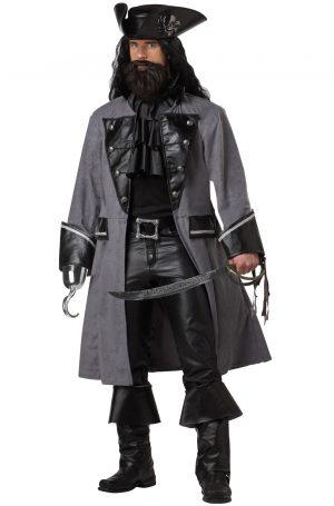 Fantasia de Pirata para Adultos – Blackbeard, The Pirate Adult Costume
