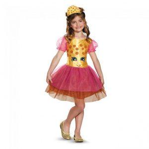 Fantasia para meninas Infantil   Cookie Shopkins – Kids Kookie Cookie Shopkins Girls Costume