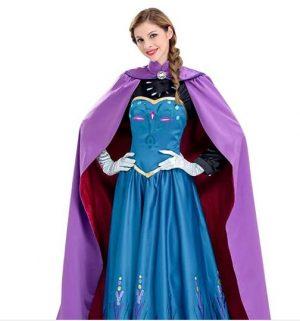 Fantasia feminina de Rainha da neve de Angelaicos – Female Snow Queen costume from Angelaicos