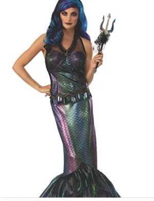 Fantasia de Rainha do mar Negro – Black Sea Queen Costume