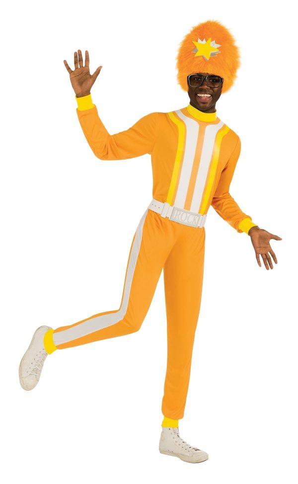 Fantasia Adulto Dj Lance Men Yo Gabba Gabba – Adult Dj Lance Men Yo Gabba Gabba Costume