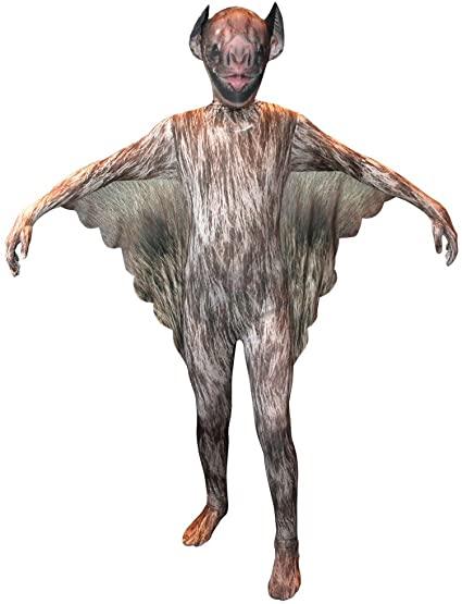 Fantasia Infantil de Morcego realista- Realistic Bat Child Costume