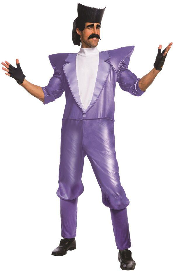 Fantasia adulto Balthazar Bratt Men Despicable 3 – Adult Balthazar Bratt Men Despicable 3 Costume