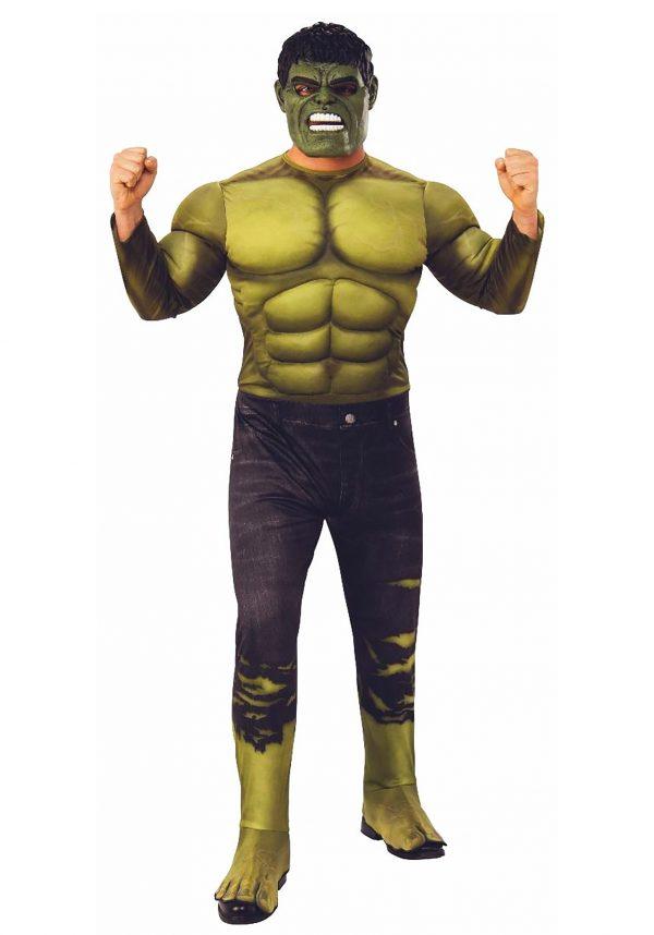 Fantasia adulto Hulk Deluxe – Deluxe Hulk Adult Costume