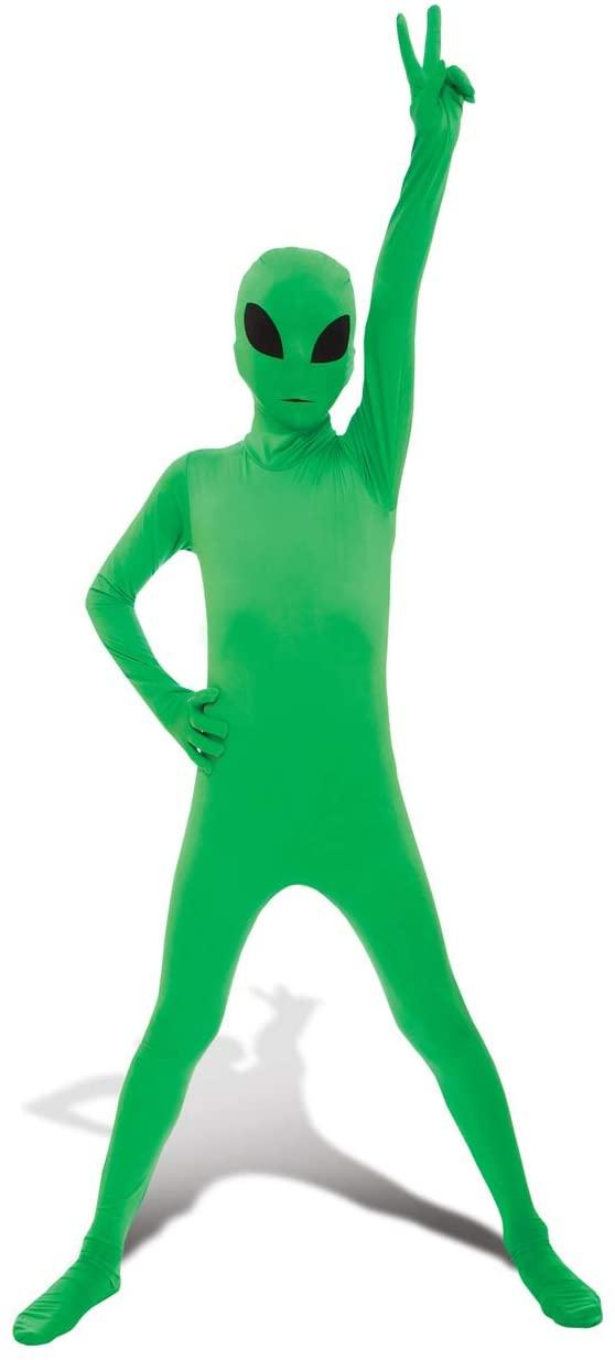 Fantasia de Alienígena Verde infantil –  Children's Green Alien Costume